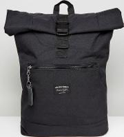 backpack with roll top