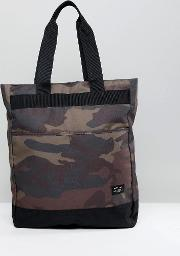 camo tote backpack