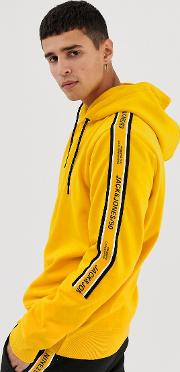 Core Hoodie With Side Taping