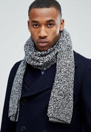 Dna Scarf In Grey