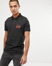 Jack And Jones Polo Shirt With Chest Logo