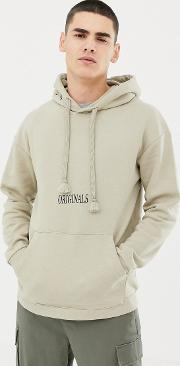 Originals Hoodie With Front And Back Graphic