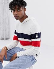 Originals Knitted Hoodie With Body Stripe