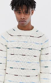 Originals Knitted Jumper With Mixed Fleck