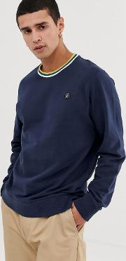 Originals Sweat With Tipping Brushed Cotton