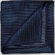 Pocket Square With Spot In Blue