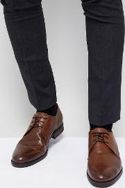 Premium Leather Derby Shoes