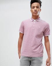 premium polo shirt with tipping