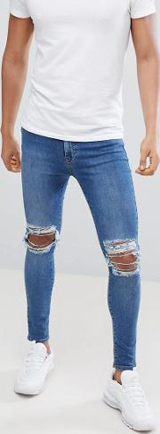 Super Skinny Jeans With Rips