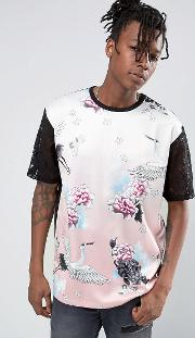 T Shirt In Floral Print