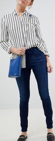 Ulle Mid Rise Skinny Jeans