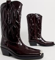 Eagles Leather Western Boot