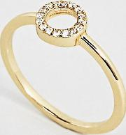 Gold Plated Fine Circle Ring