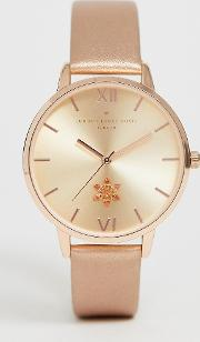 Womens Watch With Flowers