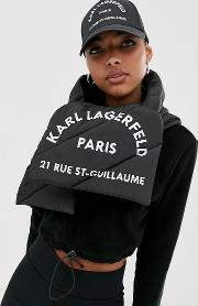 Rue St Guillaume Puffer Scarf