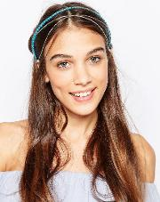 Kat & George Hair Crown With Heart Beads And Chain