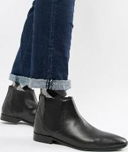 Kg By Kurt Geiger Leather Chelsea Boots