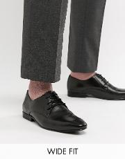 Kg By Kurt Geiger Wide Fit Derby Leather Shoes