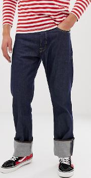 Organic Cotton Lucius Straight Dry Selevedge Jeans