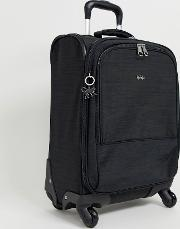Travel Carry On Suitcase With Silver Monkey Charm