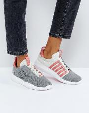 Generation  Icon Knit Trainers  Grey
