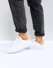 K Swiss Clean Court Trainers  White And Gold
