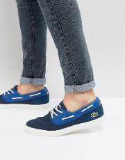 jouer deck boat shoe in navy