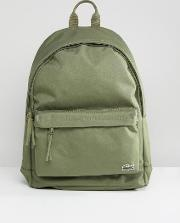 logo backpack in green
