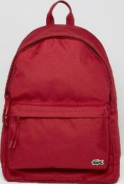 logo backpack in red