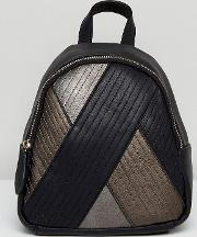 quilt mix backpack