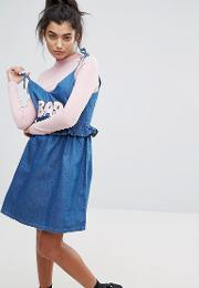 Bad Babydoll Denim Dress