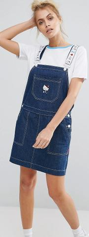 x hello kitty pinafore dress