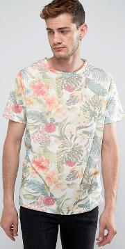 california printed  shirt