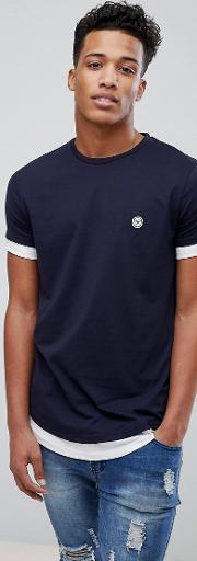 double layer t shirt