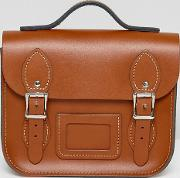 leather satchel mini festival backpack