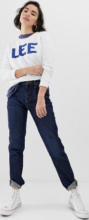 Lee Mom Straight Cut Jeans