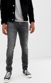 501 Skinny Fit Standard Rise Jeans Washed Grey