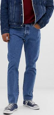 501 Slim Tapered Low Rise Jeans