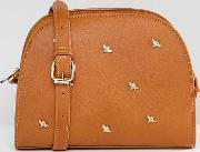 bee studded cross body bag