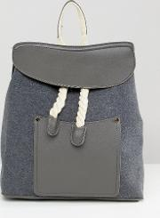 rope detail backpack