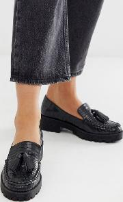 Chunky Tassel Loafers