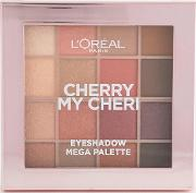 paris paradise pastel eyeshadow palette cherry my cheri