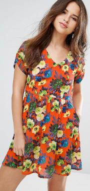 dellana floral dress