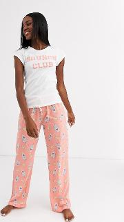 Brunch Club Pyjama Set