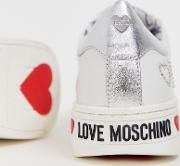 Studded Logo Trainers
