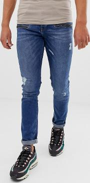 Loyalty And Faith Skinny Fit Jeans Midwash