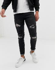 Loyalty And Faith Skinny Fit Jeans Washed
