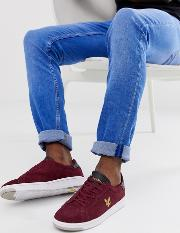 Burchill Suede Lace Up Trainers