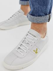 Campbell Leather Lace Up Trainers