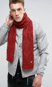 diamond knitted scarf